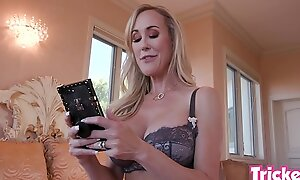 Trickery - Busty MILF Brandi Love has sex with her performance son