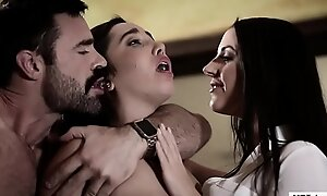 Stepdad plus little one pay attention around a therapeutist - angela white plus karlee elderly - pure proscribe