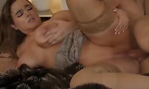 Naughty America - Alex misses Natasha Nice's massive tits bouncing on his cock!!